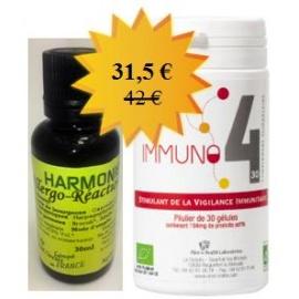 Pack  Familial Allergo-Réactions Immuno4 30 gélules