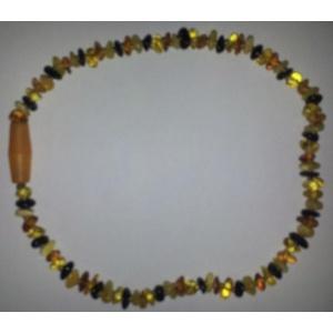 colliers ambre couleur mélangé